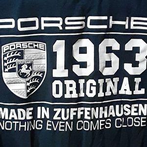 """Porsche Limited Edition Fan T-Shirt """"1963 Original"""